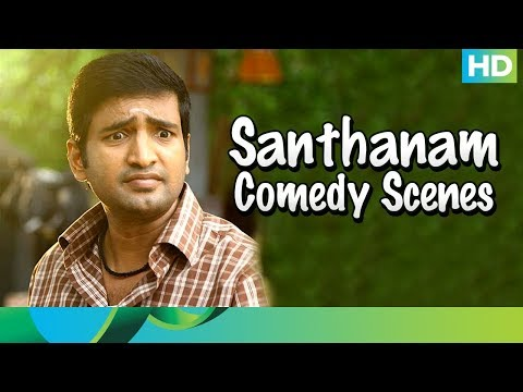 Santhanam Comedy Scenes - Muppozhudhum Un Karpanaigal - Tamil Movie