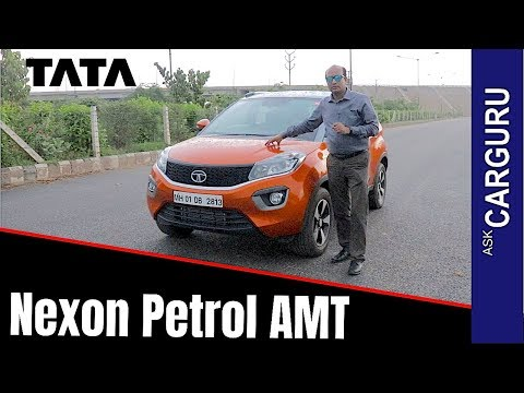 Nexon AMT full Review by CARGURU, कितने काम की?? Nexon Petrol AMT
