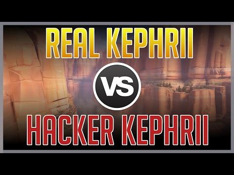 [Overwatch] Real Kephrii vs Hacker Kephrii
