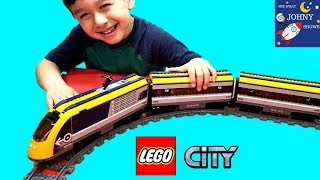 Lego City Passenger High Speed Train Toy Trains For Kids