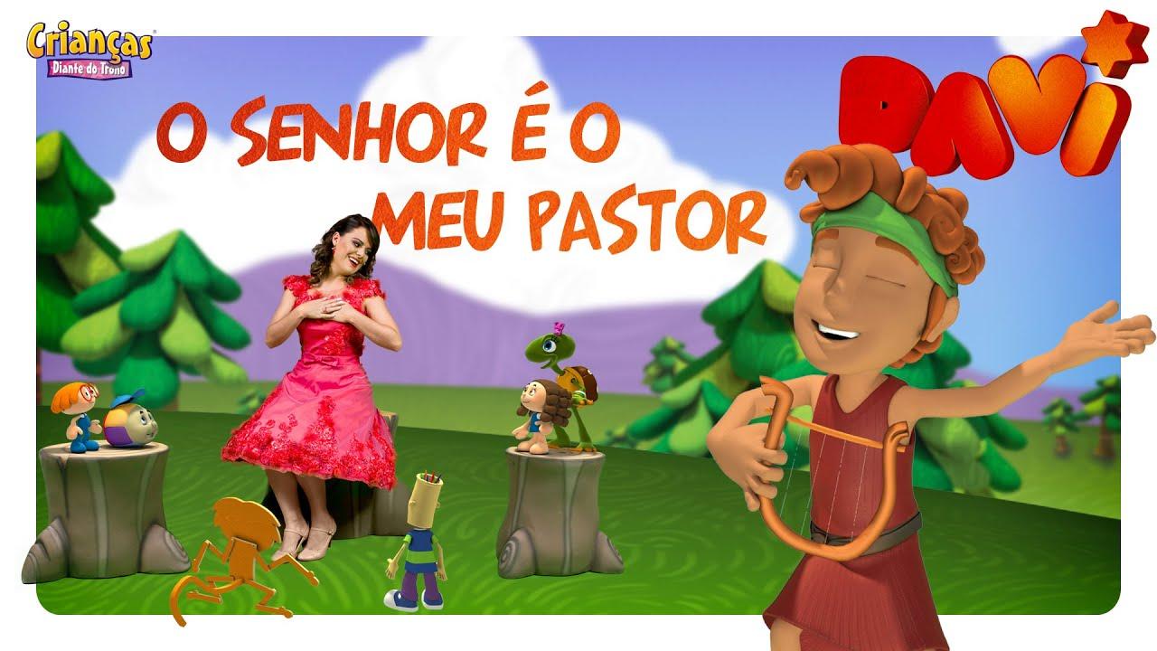 O Senhor é O Meu Pastor - Crianças Diante do Trono
