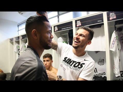 Santos 5 x 1 Atlético-PR | BASTIDORES | Brasileirão (06/12/15)