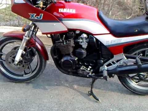yamaha xj 600 51j trompeta youtube. Black Bedroom Furniture Sets. Home Design Ideas