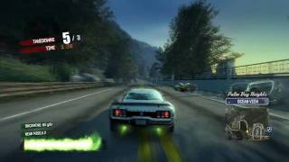 Burnout Paradise City - Game Play