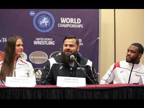 2015 World Wrestling Championships Team USA press conference