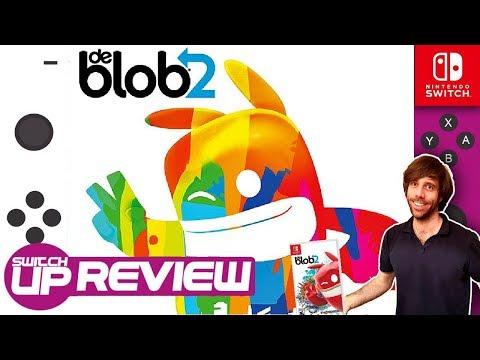 De Blob 2 Nintendo Switch Review - SPLATOON'S GRANDAD?