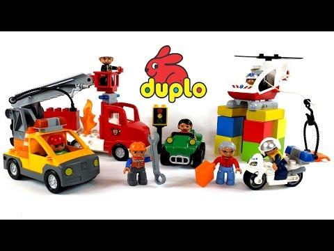 Поиграем вместе! - Большой Сборник Лего мультиков про машинки Lego Duplo