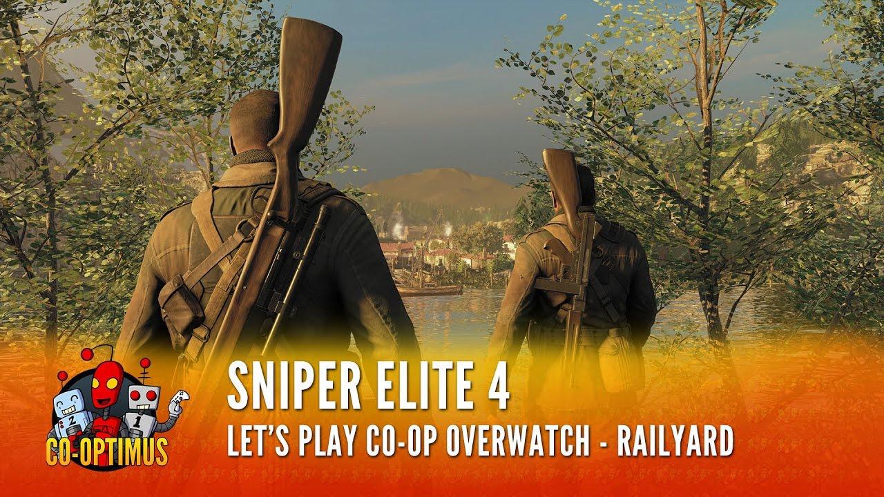 Sniper Elite 4 - Asymmetric Co-Op Mission