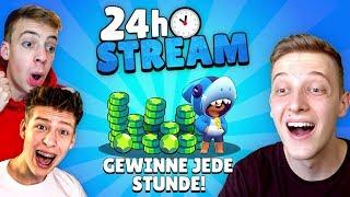 🔴24h STREAM! Gewinne jede Stunde Preise! (500€ insgesamt)✅ | Brawl Stars deutsch live