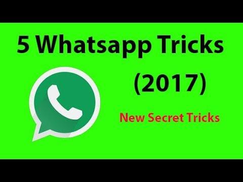 Latest 5 Cool WhatsApp Tricks you might not know about it (2017)