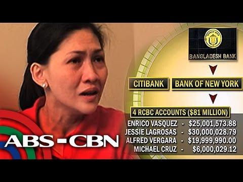 TV Patrol: RCBC at Deguito, nagtuturuan sa money laundering