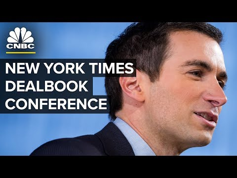 LIVE: New York Times DealBook Conference - Nov. 1, 2018