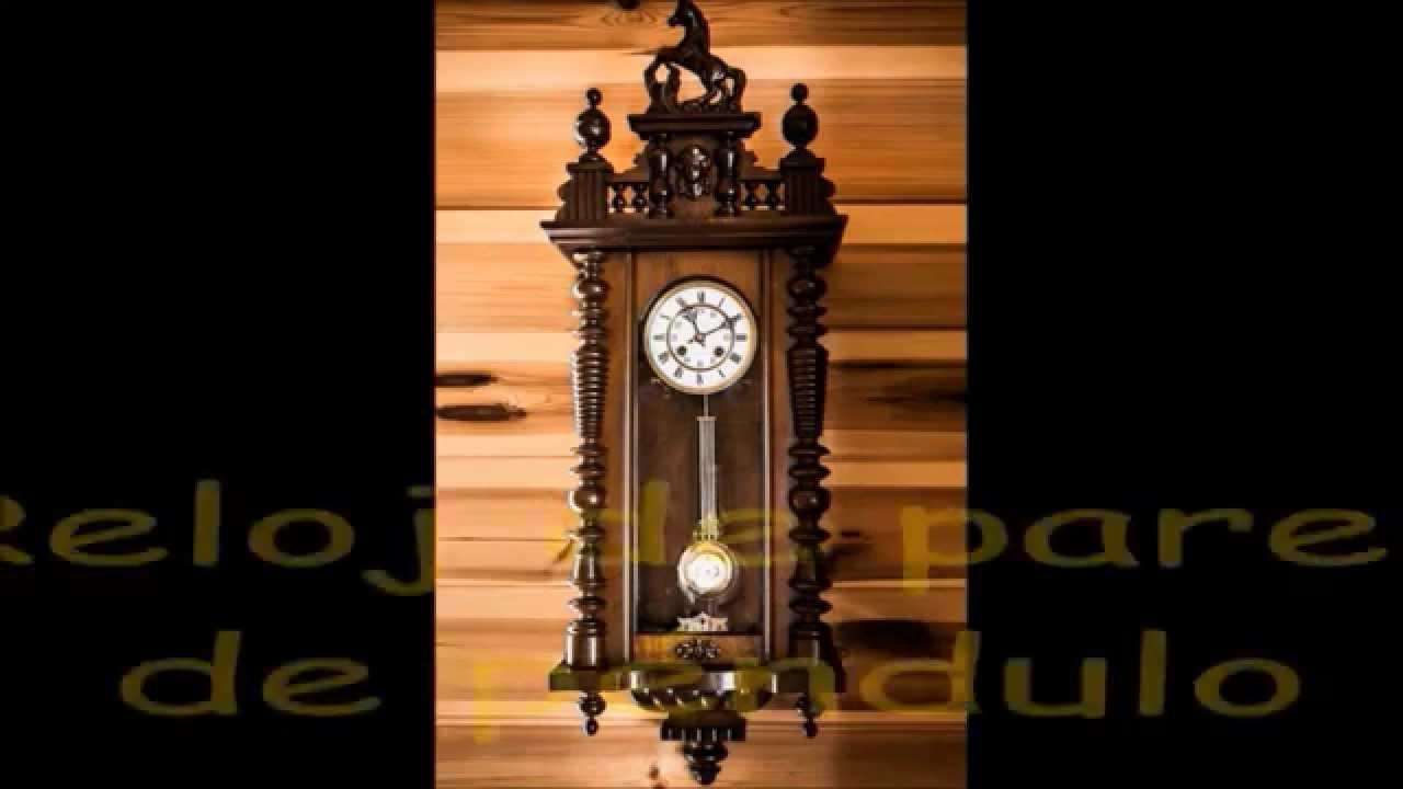 Los tipos de relojes y sus sonidos para ni os youtube - Reloj decorativo de pared ...