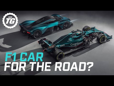 Is the Aston Martin Valkyrie really an F1 car for the road? | Top Gear