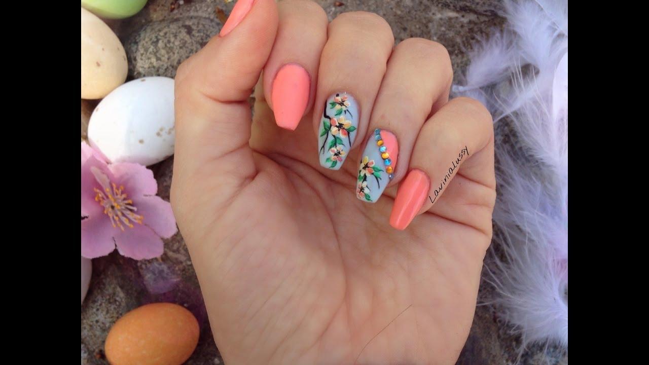 Unghie Primaverili con Semipermanenti Enailstore_ Spring nail,art