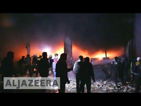 🇸🇾 Syria war escalates: International push for territory