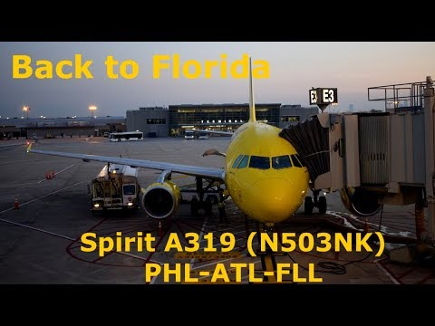 Spirit Airlines Trip Report: A319ing it down to FLL