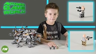 Lego Star Wars 75157 - Captain Rex's AT TE set review and build