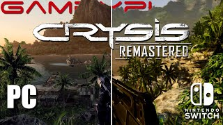 Crysis Graphics Comparison! (Switch Remastered vs. PS3; PC)