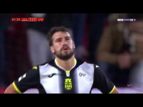 Sevilla vs Cartagena 4 0      All Goals Highlights    29 11 2017