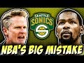 Kevin Durant And Steve Kerr Open Up About Sonics' Return