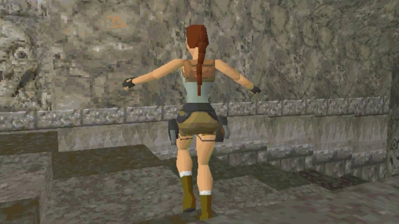 Tomb Raider Pre Alpha Footage 1996 Youtube