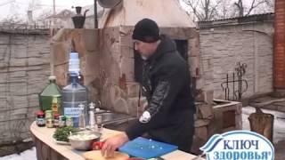 Мужская кухня.  Шашлык с киви!