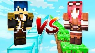 Minecraft ITA - STEF VS PHERE - PARKOUR CHALLENGE!