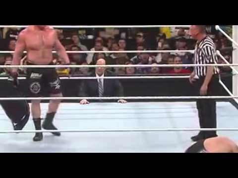 Big show vs Brock Lesnar   Royal Rumble 2014   Full Match