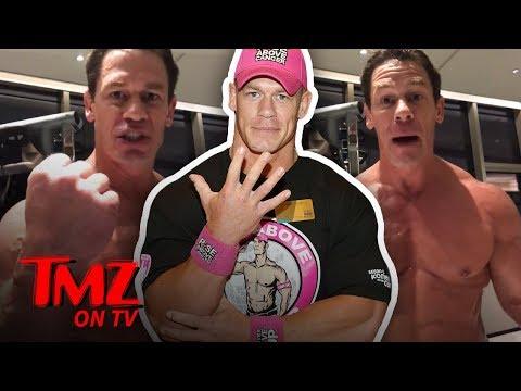 John Cena's Body Is Getting Weirdly Shamed? | TMZ TV