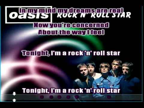 Rock N' Roll Star (Oasis) Karaoke