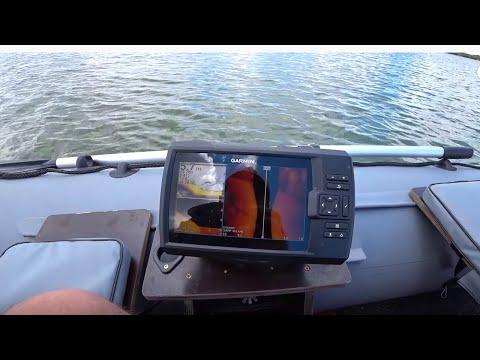 Обзор эхолота Garmin Striker Plus 7sv на воде