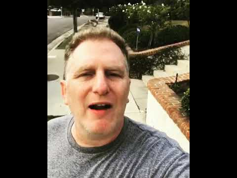 Michael Rapaport on the march in Charlottesville Va