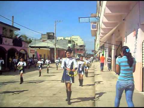 TANTOYUCA VERACRUZ 2012 DESFILE 20 DE NOV.  TEBA COL. AZTECA LAS CHICAS DEL PANDERO.