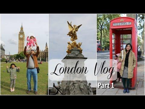 London Vlog | Part 1 | Travel Diaries |  Indian Family Travel Vlog