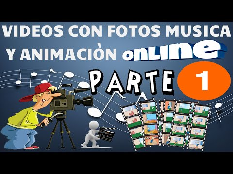 Crea Tu Video Con Fotos , Mùsica y Animaciòn | Online...!!!
