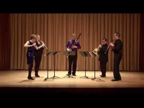 Libertango, Piazzolla, Ventus Machina Woodwind Quintet