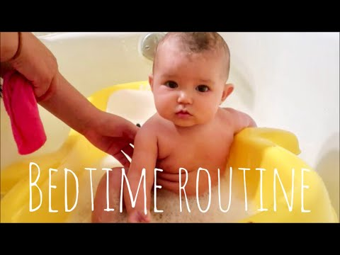 6 MONTH OLD | BABY BEDTIME ROUTINE
