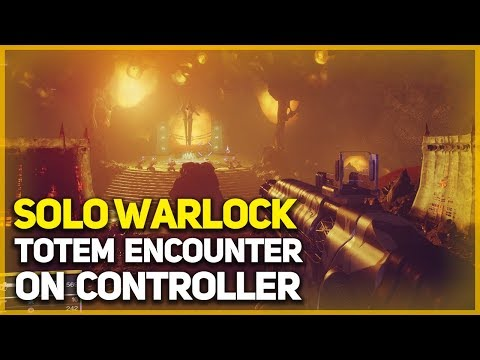 Pit of Heresy Totem Encounter - Solo Warlock on Controller (No Izanagi, Recluse, or Delirium)