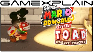 Captain Toad: Treasure Tracker - Super Mario 3D World Levels (1080p 60fps Wii U)