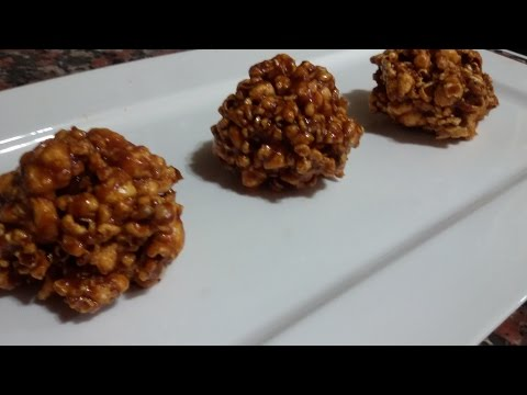 How to make easy caramel popcorn balls - Make It Easy Recipes