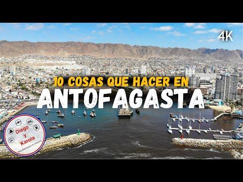 ANTOFAGASTA, 10 COSAS QUE HACER | CHILE | 4K | Diego y Karola