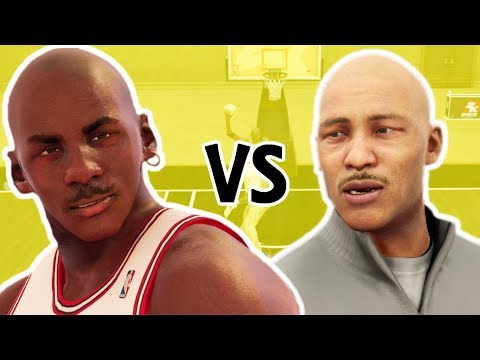 1V1 Michael Jordan VS LaVar Ball be like...