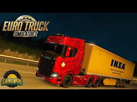 Euro Truck Simulator 2 | the beautiful sound of a V8