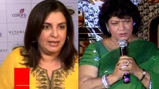 Saroj Khan lashes out at Farah | Bollywood Masala | Latest Bollywood News