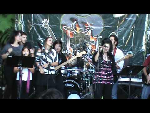 School of Rock Caracas. Concierto 2012 Gabriel