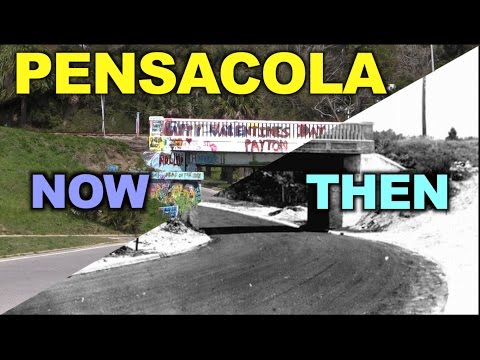 Pensacola History: Then vs Now (Part 1)