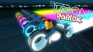 ROBLOX VOLT - MOTOS OF TRON IN ROBLOX!!! - Gameplay espaol