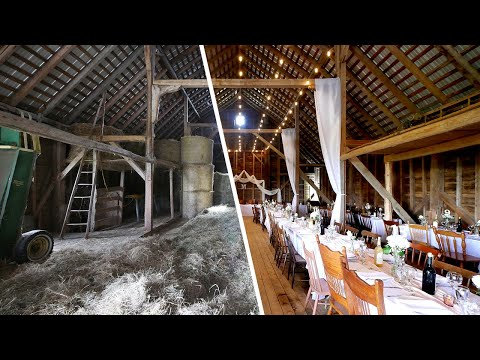 Transforming A 100+ Year Old Barn Into A Wedding Venue