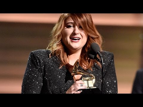 Meghan Trainor Cries After Winning Best New Artist At 2016 Grammys